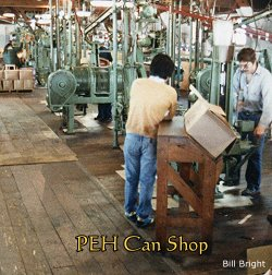 P.E. Harris cannery can shop