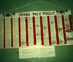 Cannery pack pool, 1980 for $1,980.00