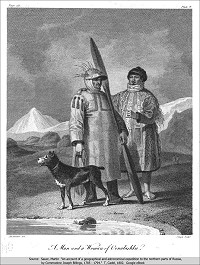 Aleut man and woman
