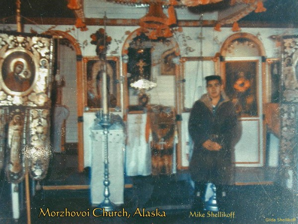 Morzhovoi Church, Alaska with Mike Shellikoff