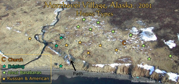 Morzhovoi village Alaska, House Types