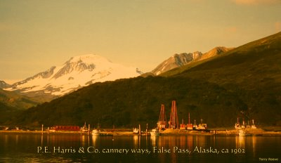 P.E. Harris cannery ways, False Pass, Alaska 1962