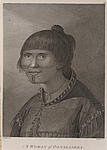 Woman from Oonalashka, Captain Cook's voyage